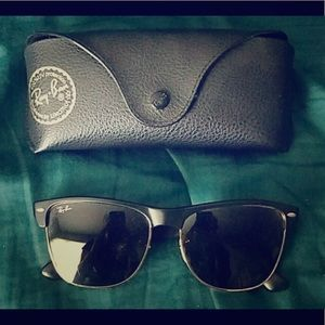 Authentic Rayban Clubmaster sunglasses RB4175